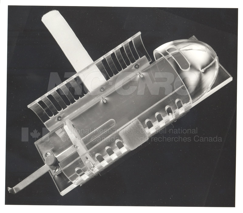 Apparatus for Holding Mouse During Surgery c.1978
