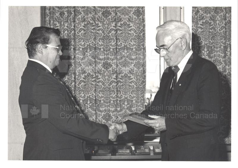 25 Year Service Presentations Nov. 1985 015