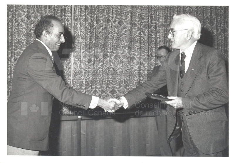 25 Year Service Plaques Presentations 1981 001
