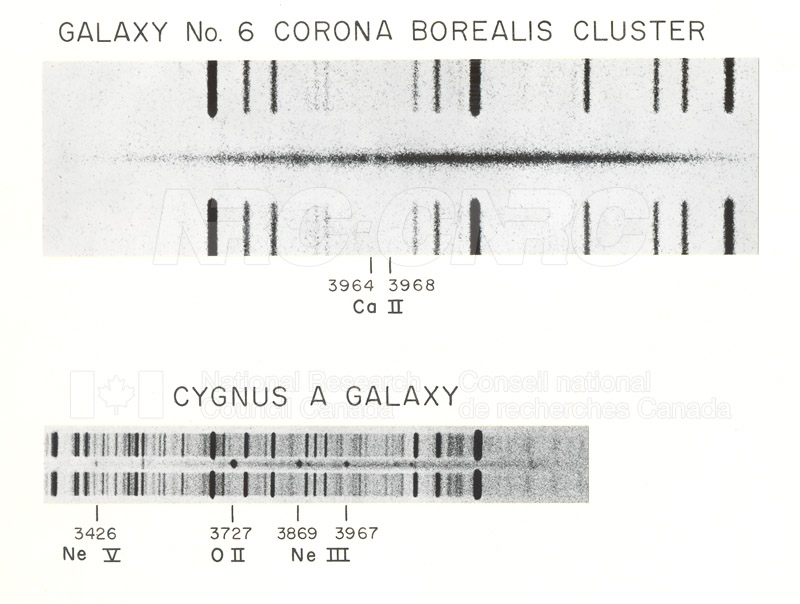 Galaxies- Galaxy No.6 Corona Borealis Cluster, Cygnus A Galaxy