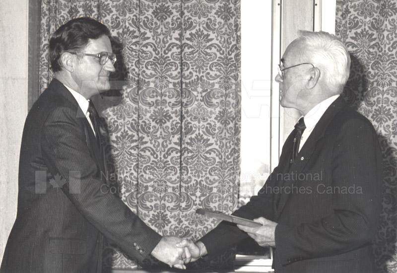 25 Year Service Presentations Nov. 1985 022