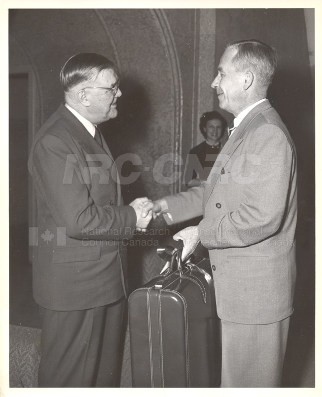S.J. Cook (Public Relations) Retirement Presentation (Dr. Steacie) March 12, 1954