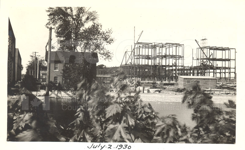 Sussex St. and John St. Labs- Album 1-Main Building July 2 1930 001
