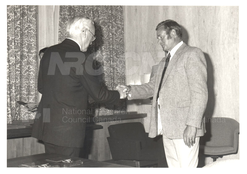 25 Year Service Plaques Presentations 1984 033