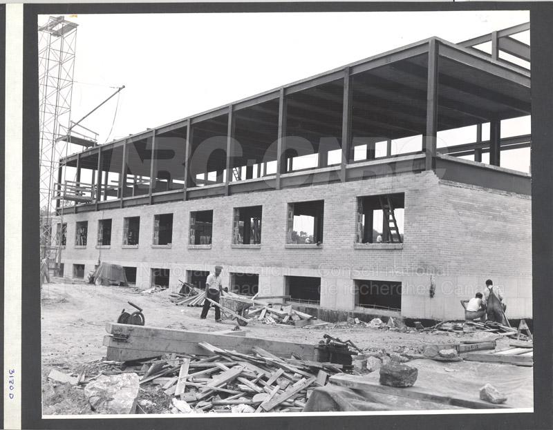 Construction of M-50 Summer 1952 #3180 002