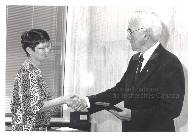 25 Year Service Presentation Sept. 12 1989 006