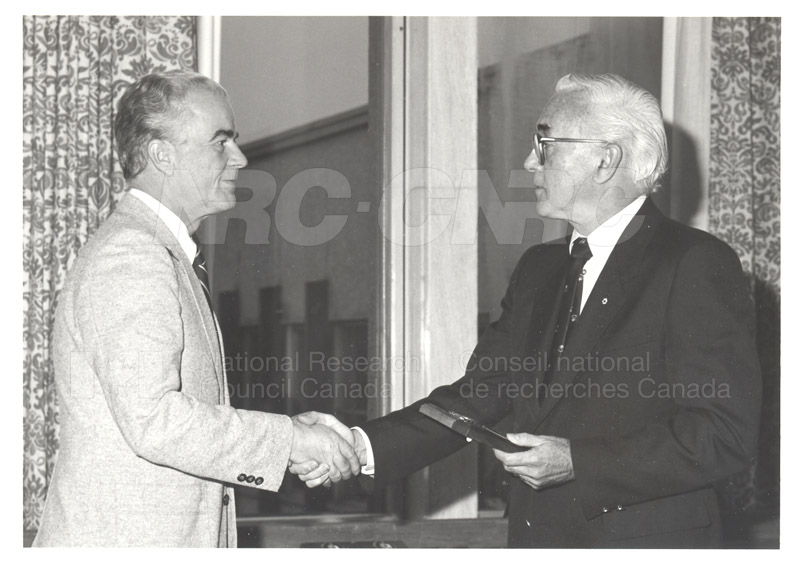 25 Year Service Plaques Presentations 1983 002