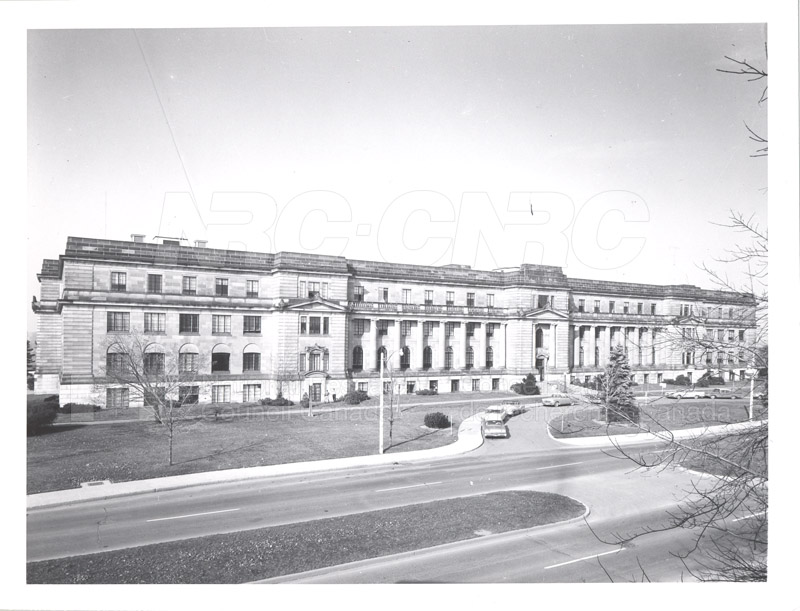 100 Sussex Drive View from External Affairs c.1960