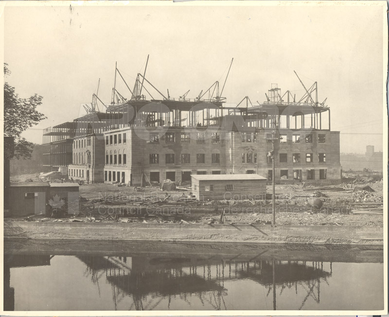 100 Sussex Drive Under Construction c.1931