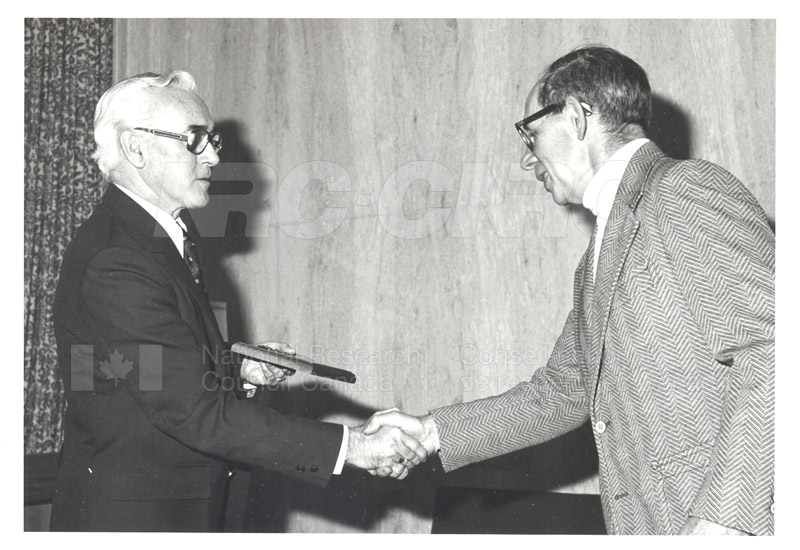 25 Year Service Plaques Presentations 1981 031