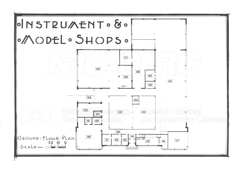 Buildings- Floor Plans Sept. 1948 014