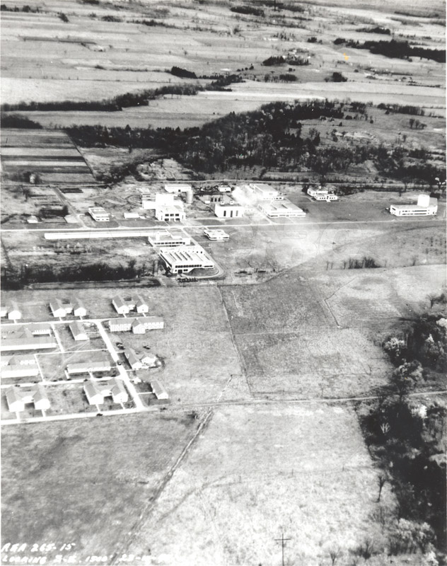 Montreal Road Campus Aerial View 1960's 007