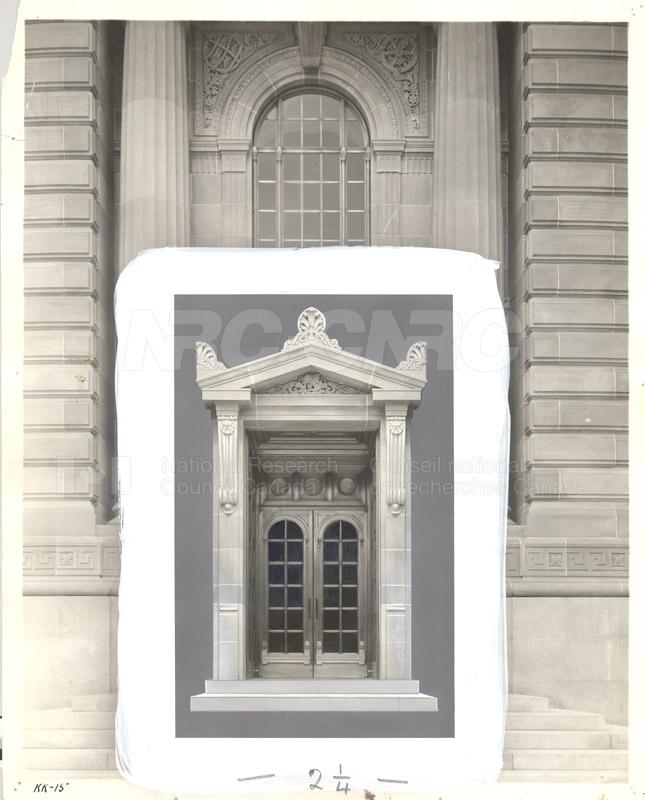 100 Sussex Drive- Front Entrance (KK-15) c.1932