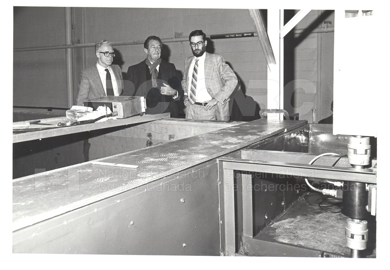 Corporate Services- Visit of French Ambassador Touring Hydraulics Lab 1981 004