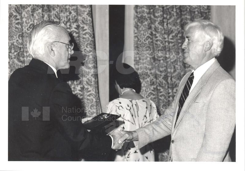 25 Year Service Presentations Oct. 29 1986 005
