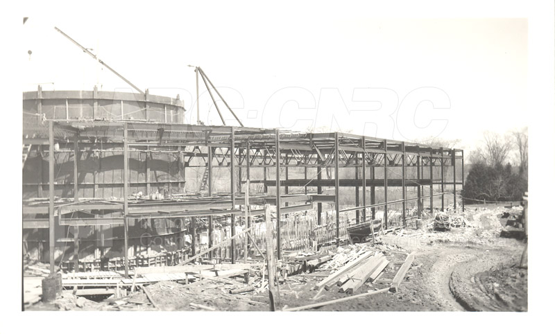 Administration and Wind Tunnels Construction 1940 022