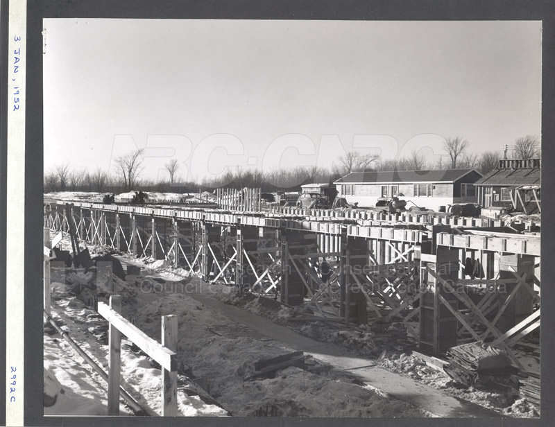 Construction of M-50 Jan. 3 1952 #2992 003
