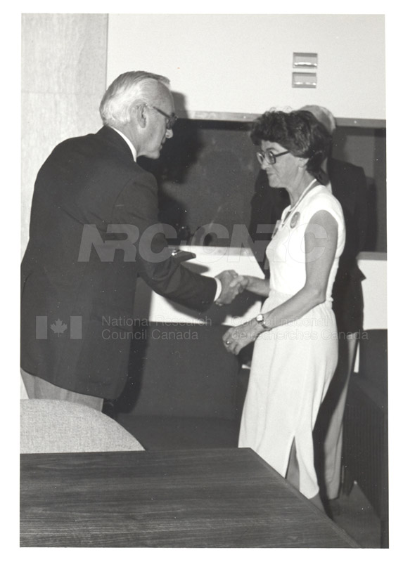 25 Year Service Plaques Presentations 1981 061