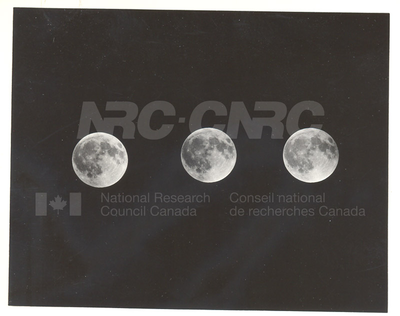 Moon- Final Prenumbral of the Lunar Eclipse Nov. 7 1938