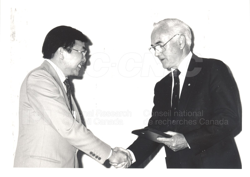 25 Year Service Presentations June 8, 1988 020