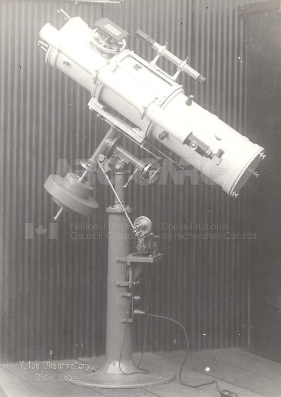 Telescopes- Y.lba Observatory Ohte, Kobe 001