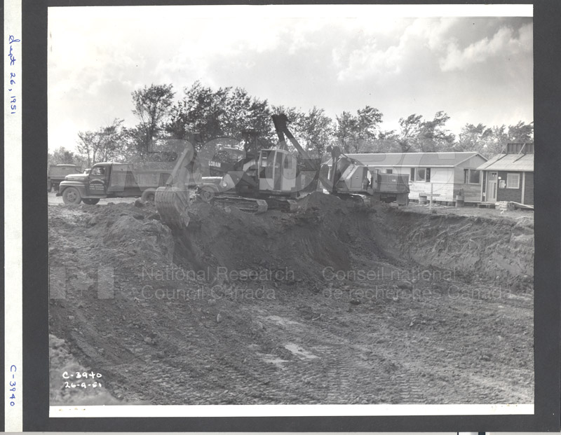 Construction of M-50 Sept. 20 1951 Photo C-3940