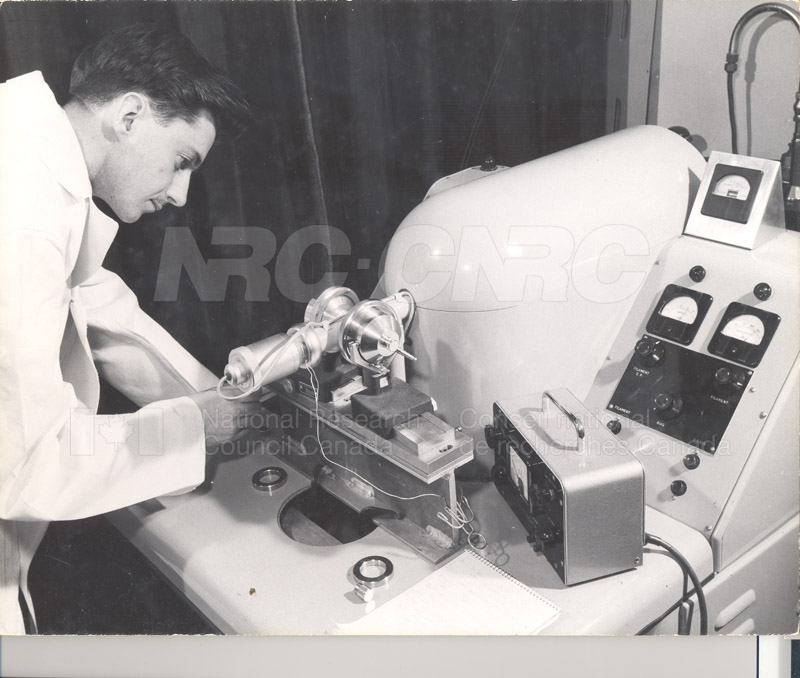 S.T. Bailey X-Ray Diffraction March 1955