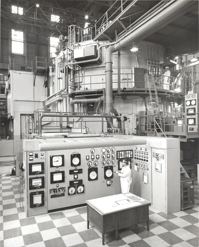 NRX Reactor- Chalk River c.1966
