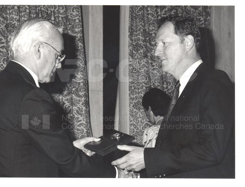 25 Year Service Presentations Oct. 29 1986 014