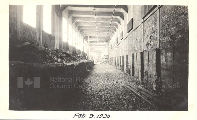 Sussex St. and John St. Labs- Album 4- Test Basin Feb. 9 1930