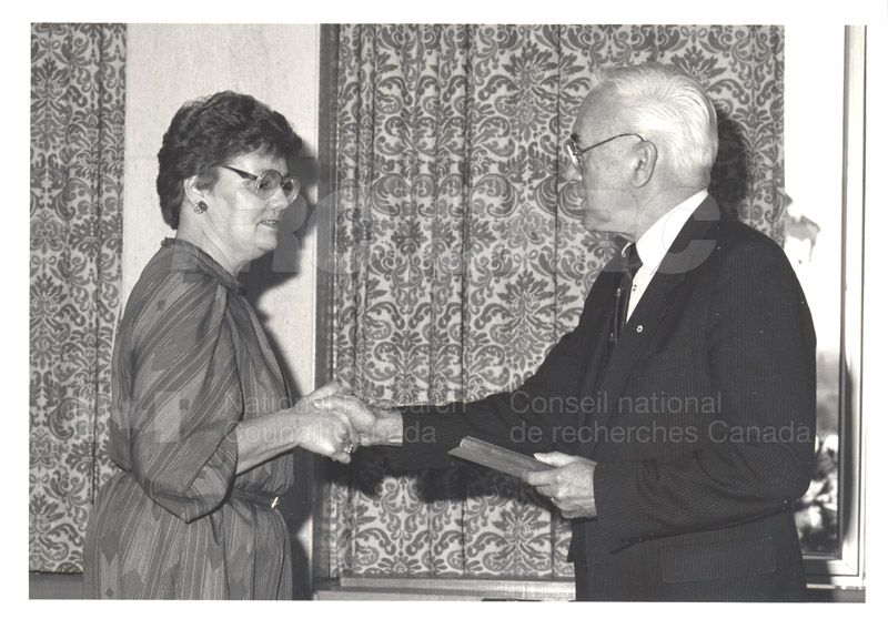 25 Year Service Presentations Nov. 1985 017