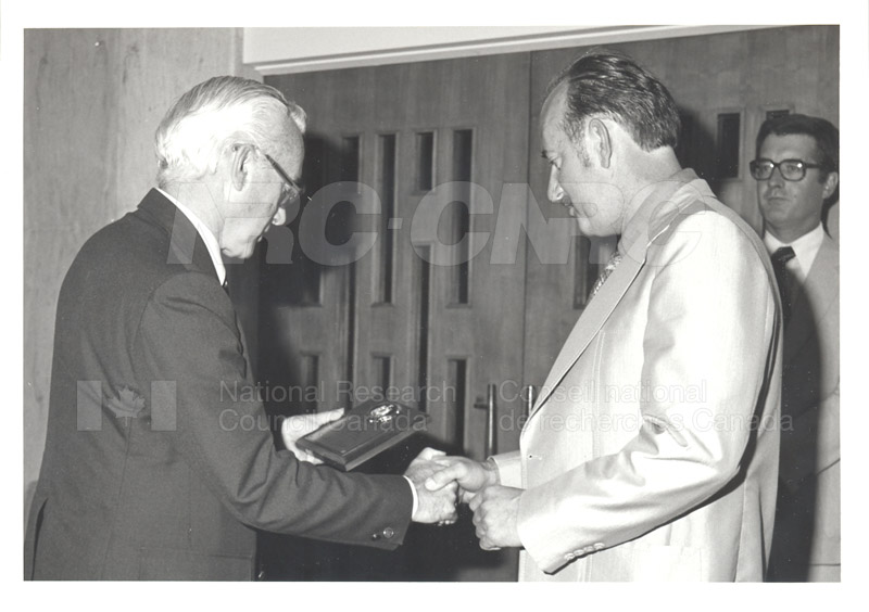 25 Year Service Plaques Presentations 1981 072