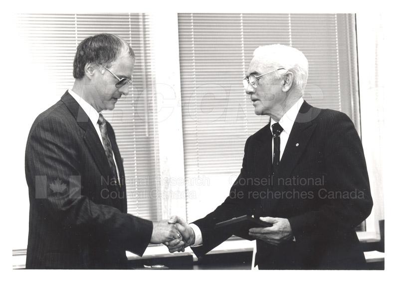 25 Year Service Presentation Sept. 12 1989 018