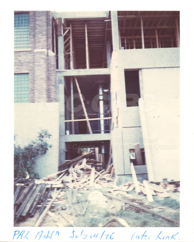 Building the Addition 1976 003