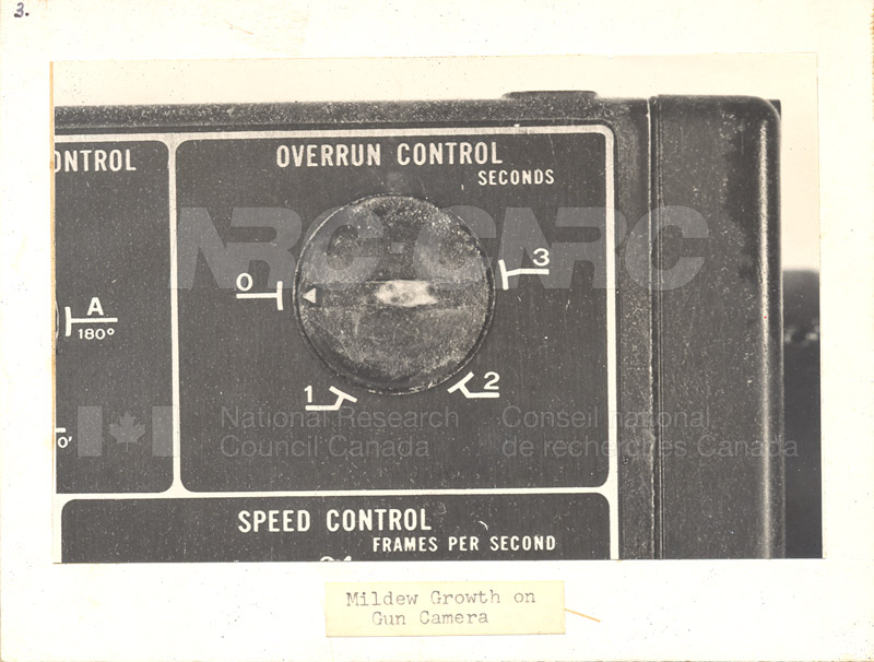 Mildew Growth on Gun Camera 001