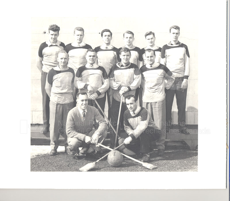 NRC Broomball Champs 1956