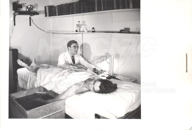 Winnipeg General Hospital Testing for Peripheral Circulation