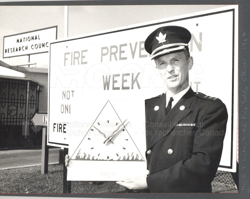 Fire Prevention Section Activities (Mr. Luke) 1950s+60s 011