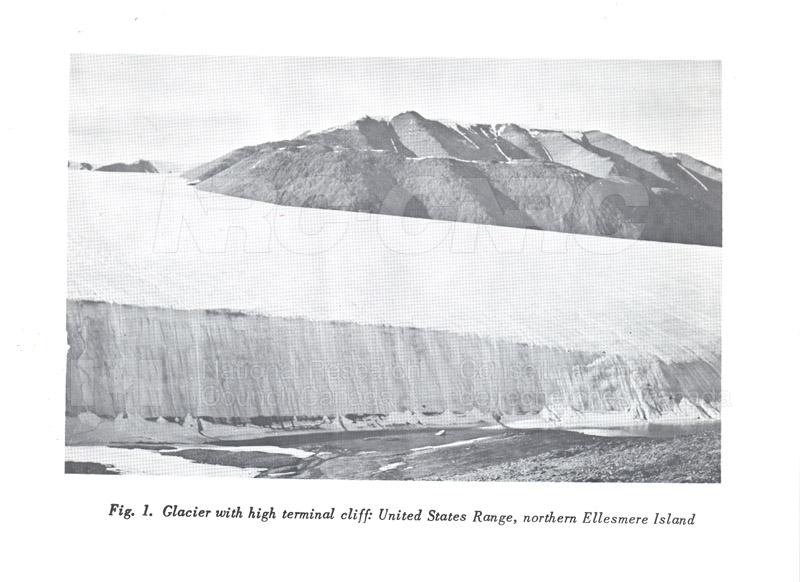 Glaciers- Ellesmere Island D.R.B. c.1958 002