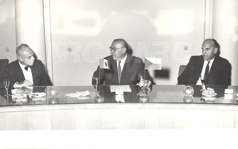 Academy of Science- Dr. Ballard and Dr. Jaroslavkozenik, Czechoslovakia 1966 003