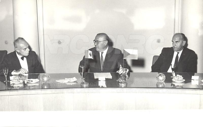 Academy of Science- Dr. Ballard and Dr. Jaroslavkozenik, Czechoslovakia 1966 003