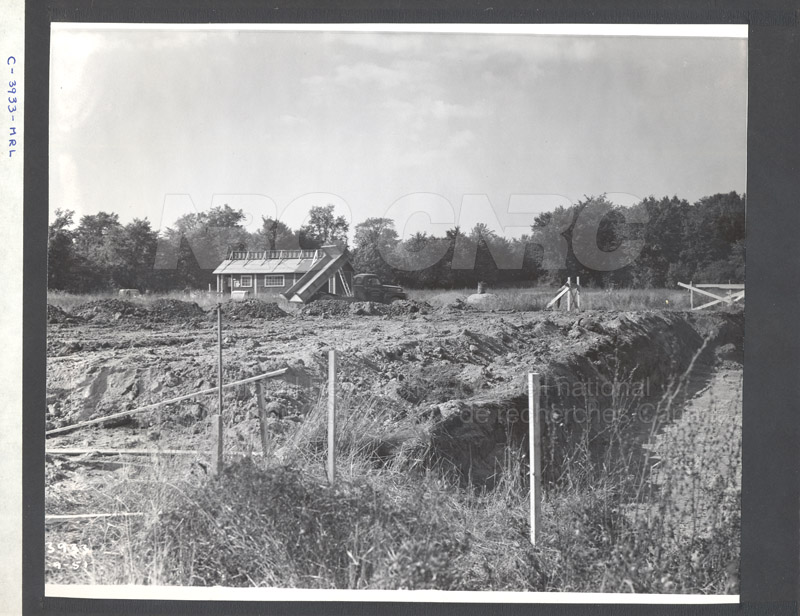 Construction of M-50 Sept. 20 1951 Photos C-3933 001