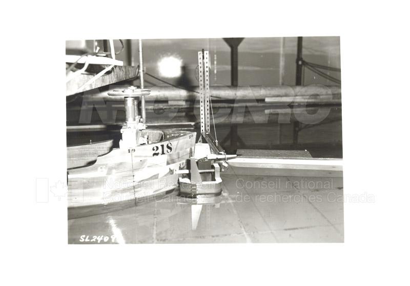 Lock Model Study 1986 009