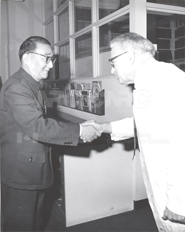 Prof. Pei Shih-Chang (China) Nov. 1972 001