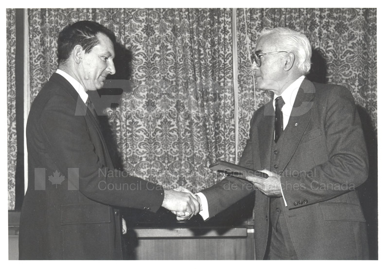 25 Year Service Plaques Presentations 1981 005
