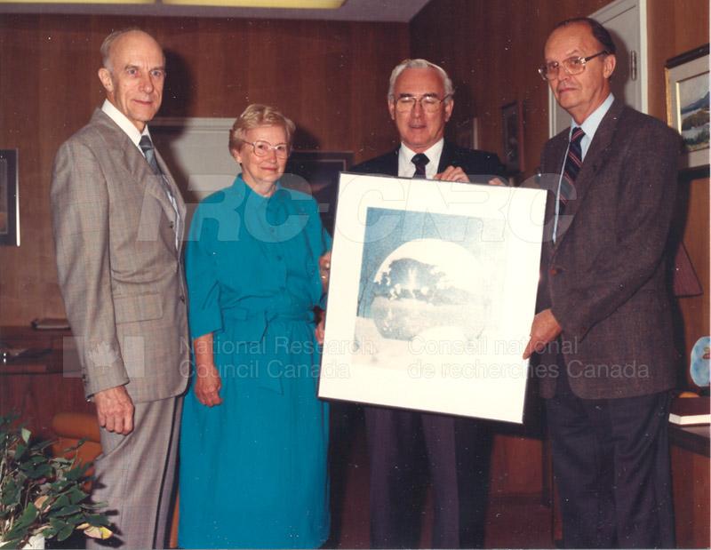 40 Year Dr. P.A. Redhead Sept. 2, 1987 001