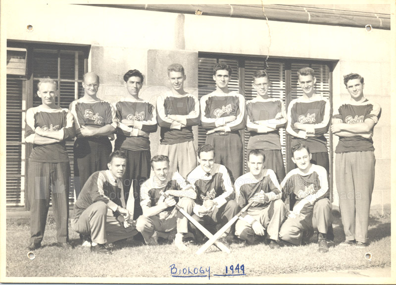 Biology Baseball Team 1949