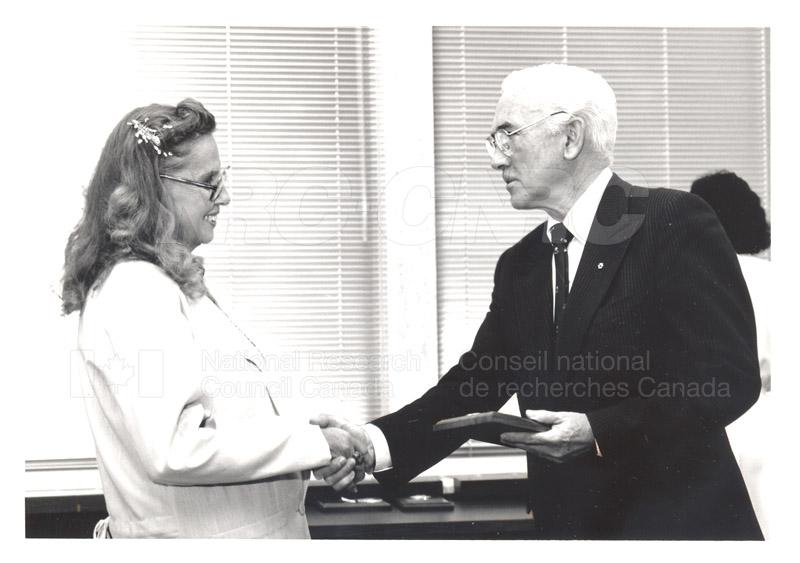 25 Year Service Presentation Sept. 12 1989 020