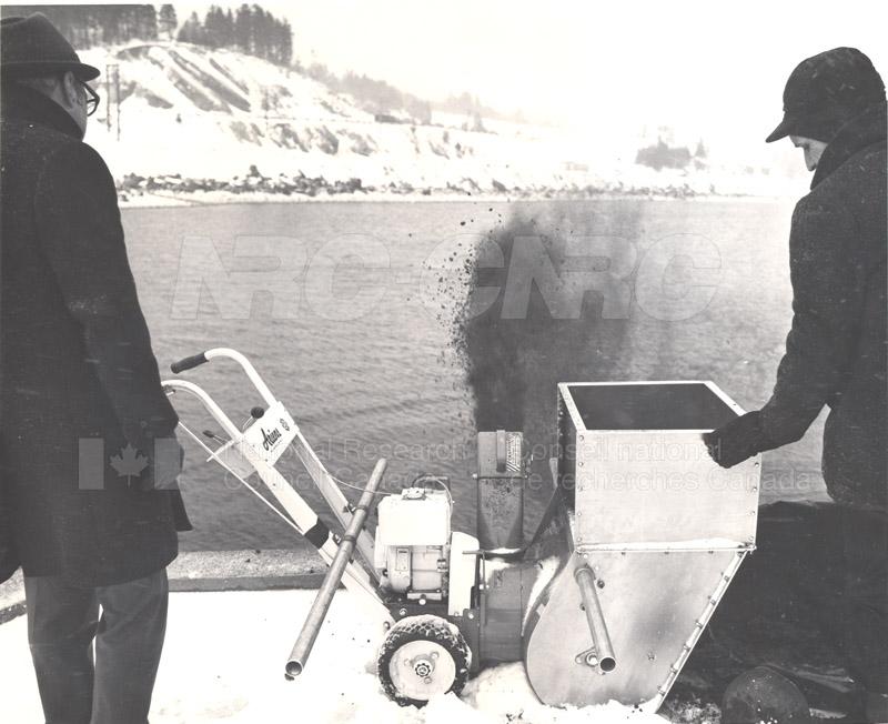 Arrow Oil Spill Clean Up 1970 004