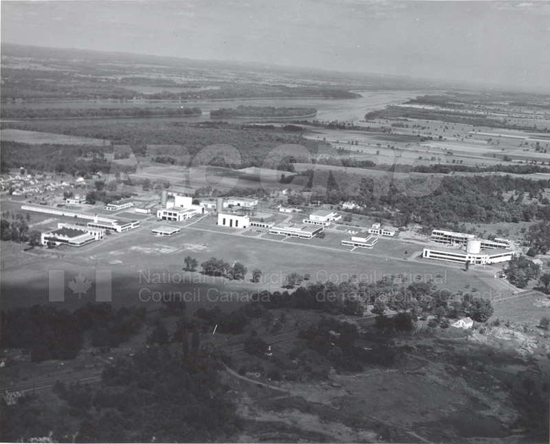 Montreal Road Campus Aerial View